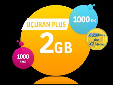 Turkcell Uçuran 2 GB Plus Paketi