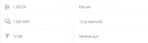 Turkcell Dört Dörtlük Paketler Platinium 10 GB