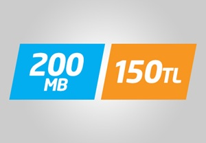 Avea Yurtdışı 200 MB İnternet