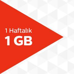Türk Telekom 1 GB Haftalık İnternet Paketi