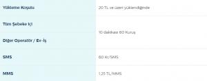 Türk Telekom Mobil Heryöne Tarifesi