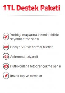 Vodafone KaraKartal 1 TL Destek Paketi