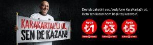 Vodafone KaraKartal 3 TL Destek Paketi