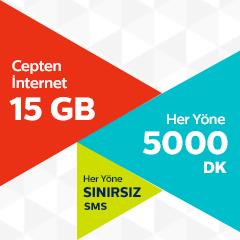 Türk Telekom Ailece 15 GB Tarifesi