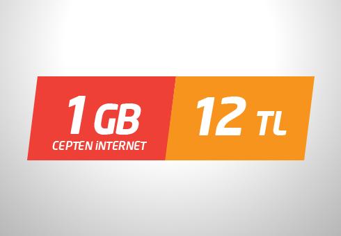 Avea 1 GB Cepten İnternet Paketi