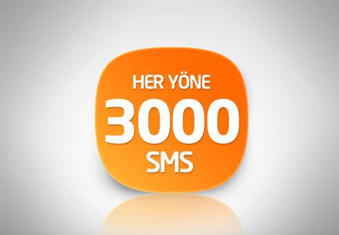 Avea Dev 3000 SMS Paketi