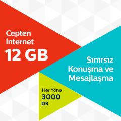 Türk Telekom 12 GB Tarifesi