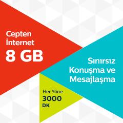 Türk Telekom Ultra 8 GB Tarifesi