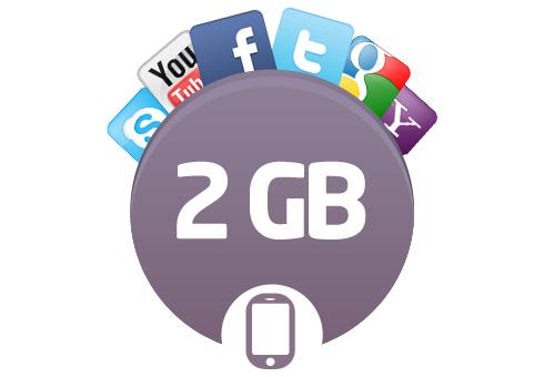 Türk Telekom Avea 2 GB Aylık İnternet