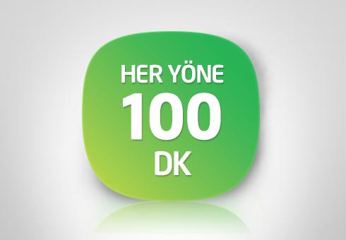 Turkcell Haftalık 100 DK Paketi