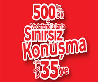 Vodafone Sınırsız Paket ve Özellikleri