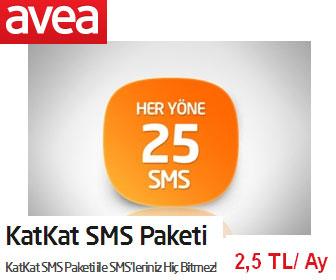Türk Telekom Avea KatKat Sms Paketi Özellikleri
