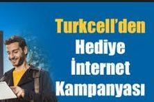 Turkcell Yeni Müşteriler için İnternet Kampanyalar 2017
